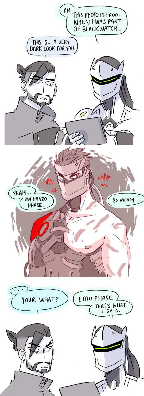 After seeing Genji's new Blackwatch skin