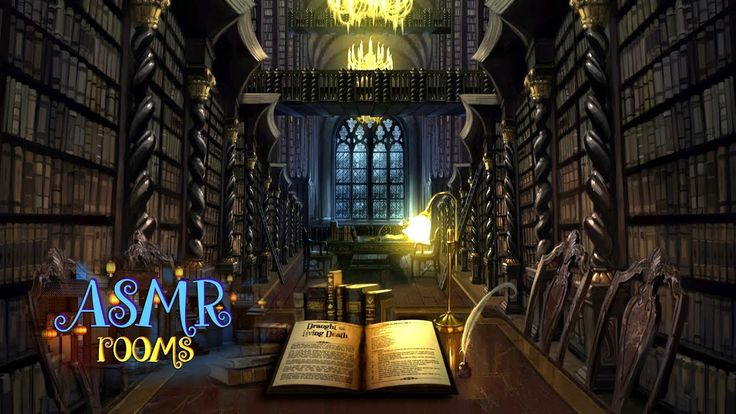 Ambient Rooms Hogwarts Library