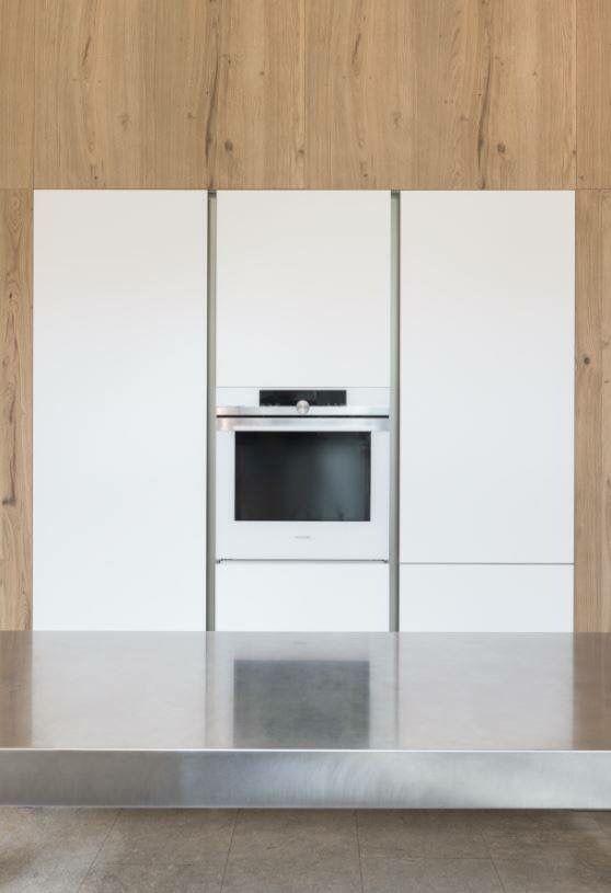 #Boffi kitchen cabinet madenof white FENIX NTM. Colour: Bianco Kos.
