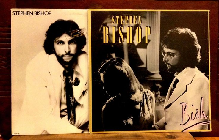 Steven Bishop Careless & Bish LPs  Orig ABC Records  Andrew Gold Eric Clapton EX #SoftRock