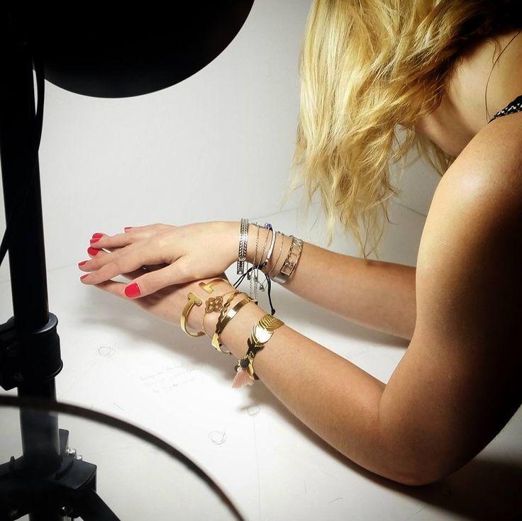 En pleine préparation pour la nouvelle collection de septembre 😃😃 #shootingphoto #Crazydiams #becrazy #becreative #bijoux #photo #picture #studio #model #shadow #style #Paris