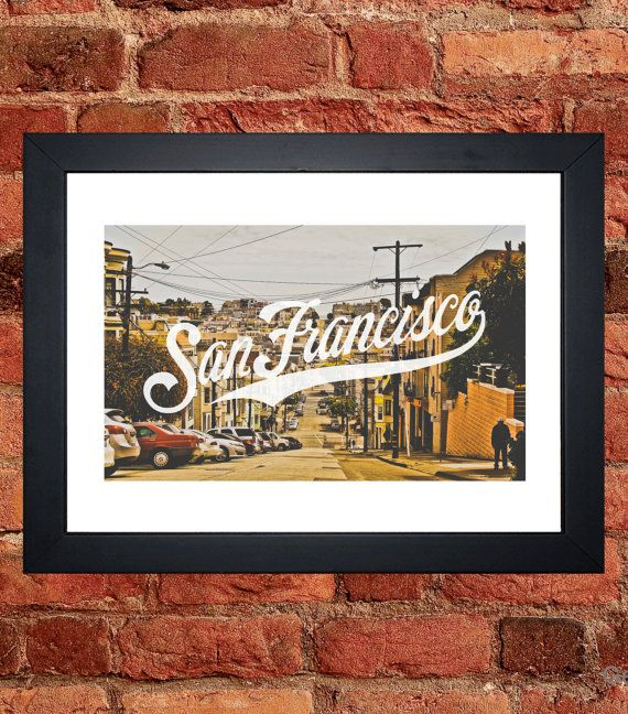 San Francisco Street Print II - Digital download.