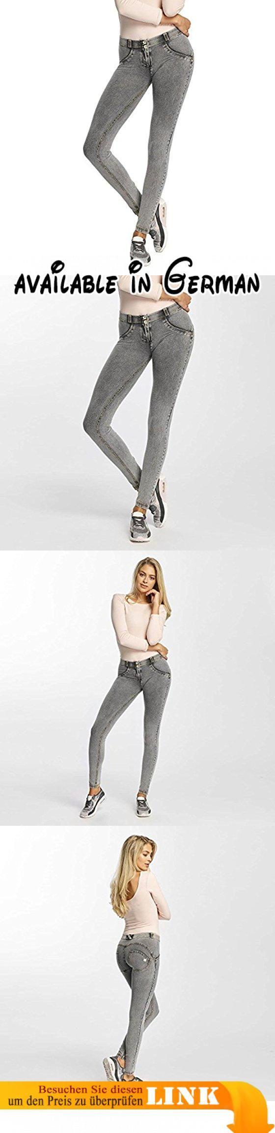Freddy Damen Jeans / Skinny Jeans Regular Waist grau XL. Skinny Jeans Regular Waist überzeugt mit modernem Look. Freddy bietet einen langhaltigen Tragekomfort und steht für hohe Qualität zu einem fairen Preis.. Moderner Look und bequeme Passform. Skinny Jeans Regular Waist hat alles, was Damen Skinny Jeans haben müssen. #Apparel #PANTS