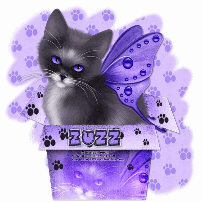 Betsy's Paradise Dreamer: LilKitty-Zuzzanna tut-Melissa Dawn + snagtags