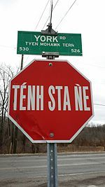 Mohawk language - Wikipedia, the free encyclopedia
