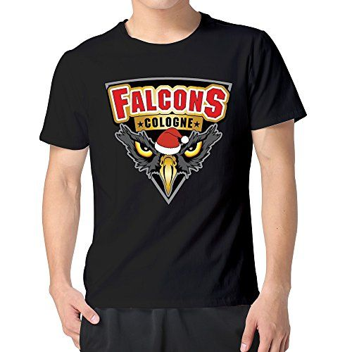 men 39 s falcons cologne famouse football team t shirts black. Black Bedroom Furniture Sets. Home Design Ideas
