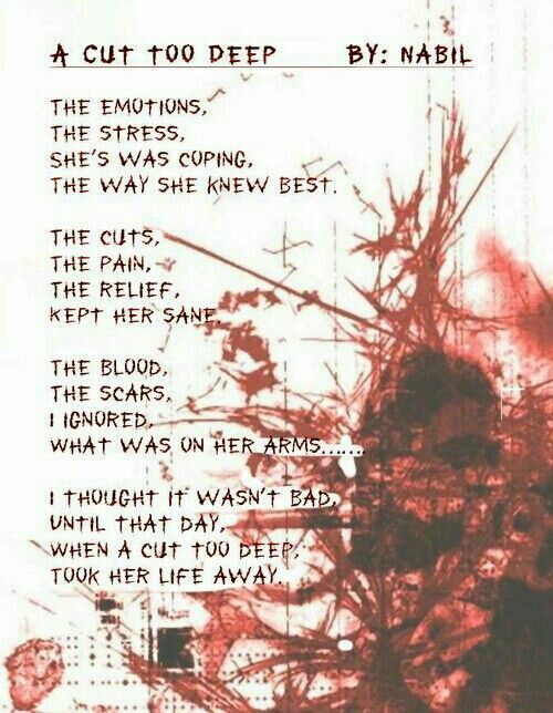 Emo Quotes About Suicide: 25+ Best Wrist Cutting Quotes On Pinterest