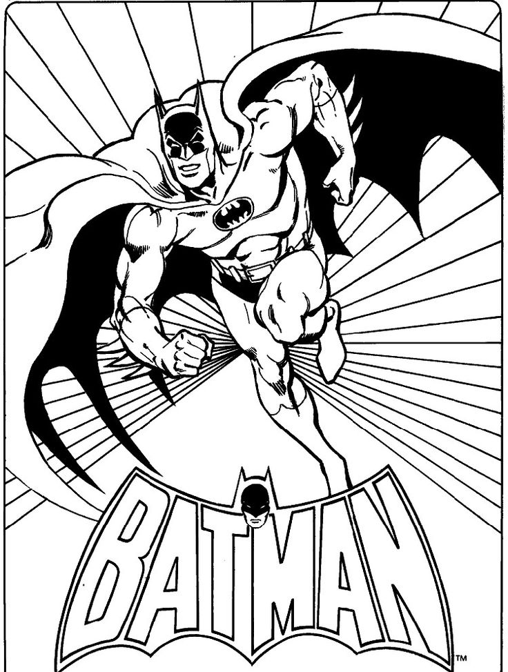 30 best Comic Book Coloring Pages