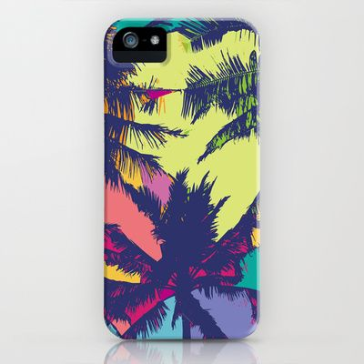 Palm tree iPhone & iPod Case by PINT GRAPHICS - $35.00