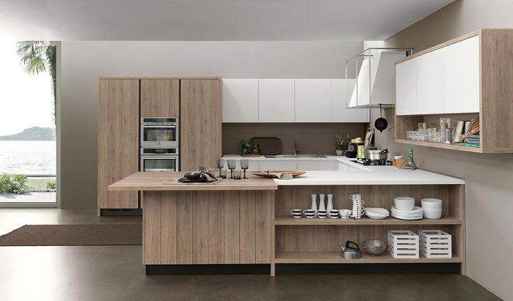 Modern kitchen Kalì #kitchen #furniture http://www.arredo3.com/en/modern-kitchens/kali.html