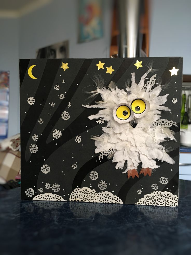 Зимние поделки с детьми, творчество, зима, сова, своими руками, из бумаги, картон, kids crafts, craft ideas, winter I Love OWL For Dream BIG Little ONE ***LIMITED EDITION *** **NOT SOLD ANYWHERE ELSE** **Designed & Printed in the USA** Buy Now: https://pro.teechip.com/ILoveOWL