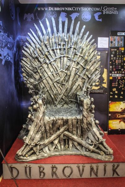 Sit on the Iron Throne in Dubrovnik