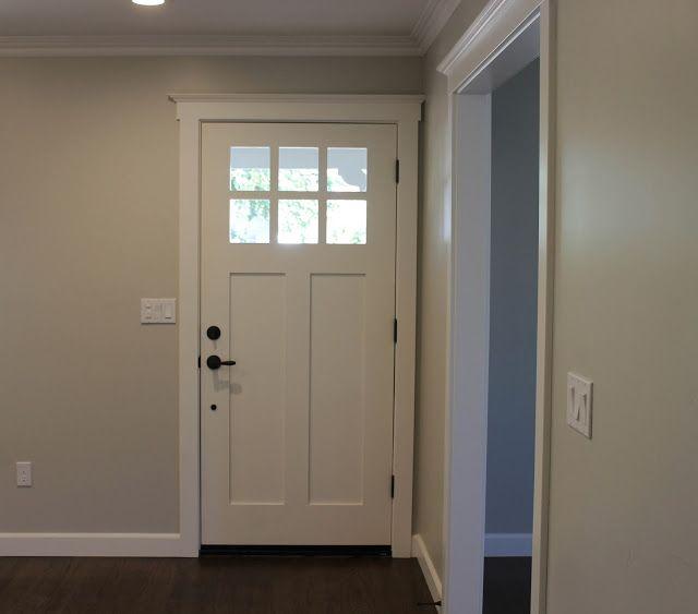 dark doors door color is wrought iron by benjamin moore trim paint. Black Bedroom Furniture Sets. Home Design Ideas