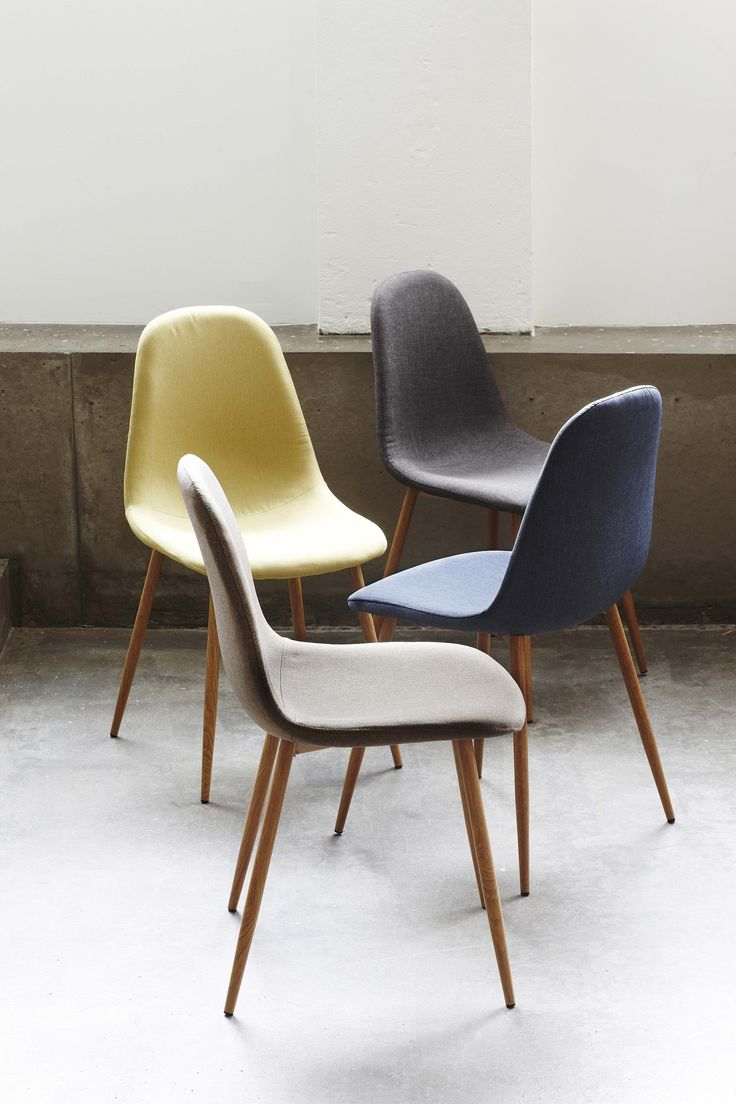 New Interior Collection.  Chair with fabric seat. Comes in 4 colors. Available…