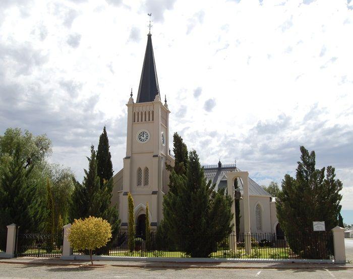 Calvinia se NG Kerk is in 1899 ingewy. Foto: Phil Pieterse (Flickr)