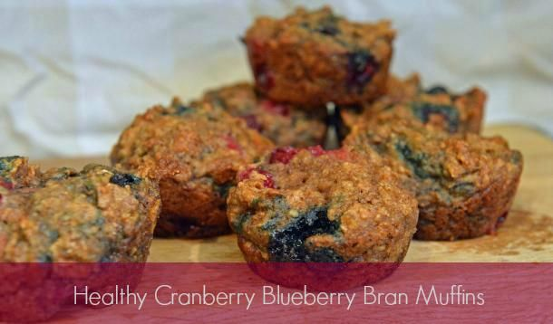 Just like Tim Hortons' cranberry blueberry bran muffins, but vegan and healthier!