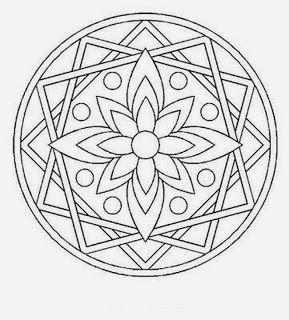 Mandala -- Coloring Page