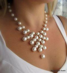 collar de perlas … | bisuterias | Jewel…