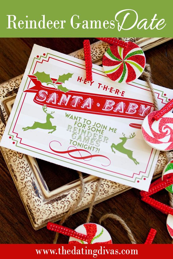 What a fun Christmas date OR gift!  www.TheDatingDivas.com #christmas #gift #forhim