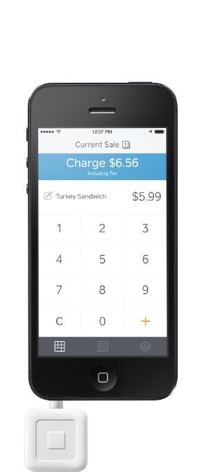iPad Point of Sale System Accept Credit Cards Square