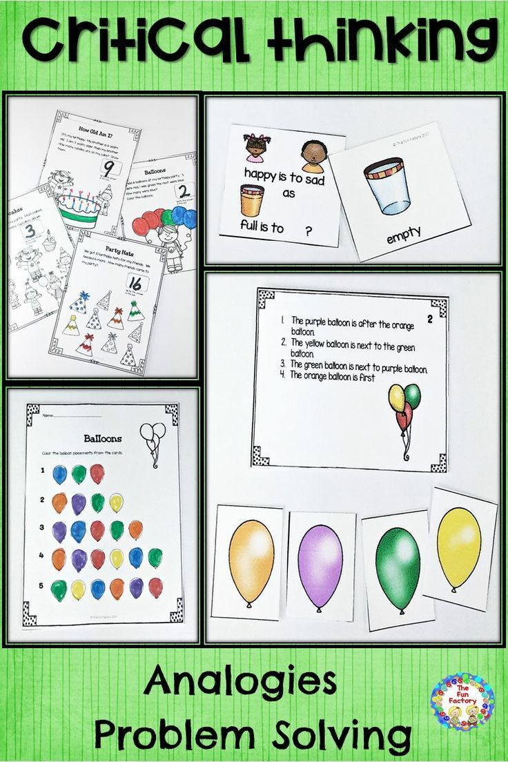 Students Need To Be Critical Thinkers Who Can Make Sense Of Information Analyze Compare Contrast Make The Fun Factory Thinking Skills Fifth Grade Resources
