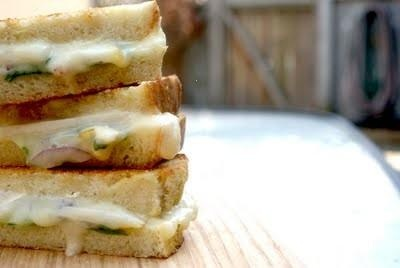 Grilled Pear And Brie Sandwich