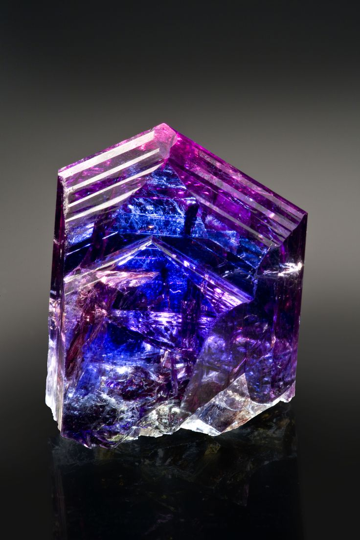 Tanzanite. It's like a lightning storm, encapsulated.
