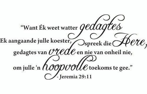 Jeremia 29.11