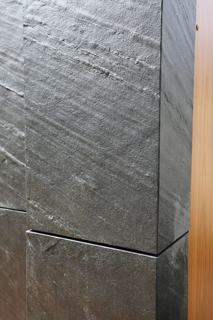 Slate and stone veneer tile wall cladding for kitchens, bathrooms and interiors.