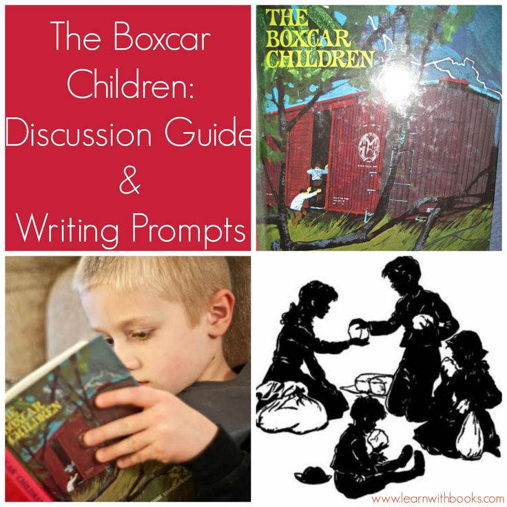 The Boxcar Children Curriculum Guide -Discussion Guide and Writing Prompts