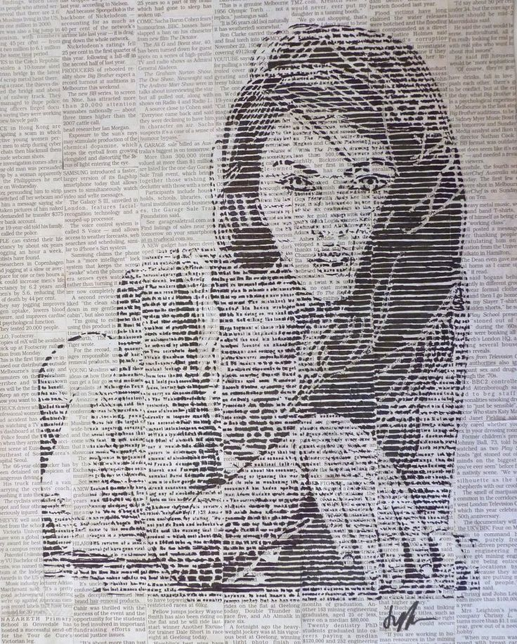 Best Drawings On Newspapers Images On   Charcoal Art