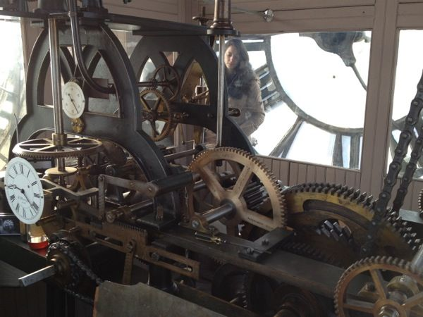 Clock tower Gallery NYC - Built in 1898, the 5000-pound bronze structure is the largest in the city and is now known as the Clocktower Gallery. CLOSED. But every week Marvin Schneider, New York City's official clock master, arrives to wind it by hand, as he has been doing since the late '70s.