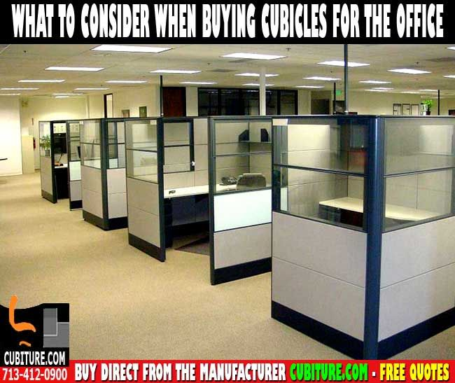 Modular Cubicle Office Furniture For Sale Houston TX