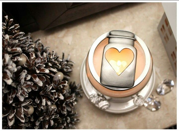 Yankee candle illuma heart ♡