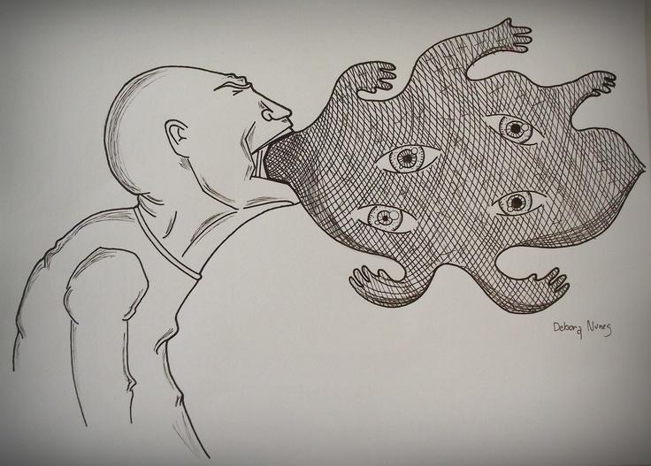 Spit it out! By Debora Nunes