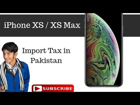 PTA Tax or Customs Duty || Apple iPhone XS / XS… | PTA