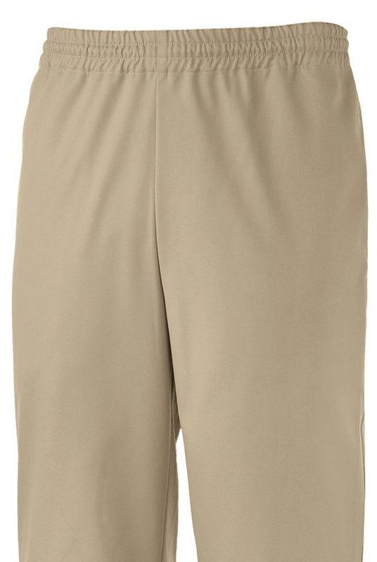 pantalon kine beige taille élastique