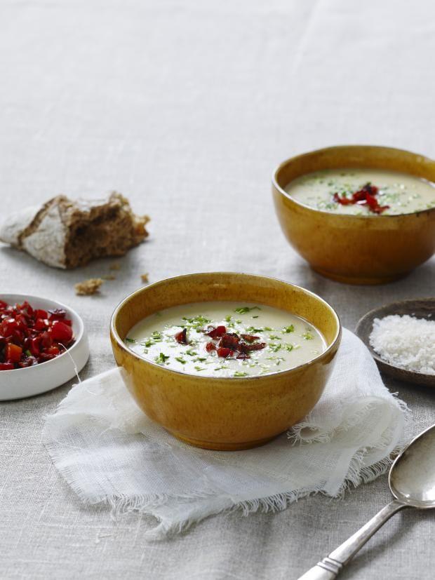 Hverdagsmat, suppe, potet, smak, middag, sunt, måltid, middag
