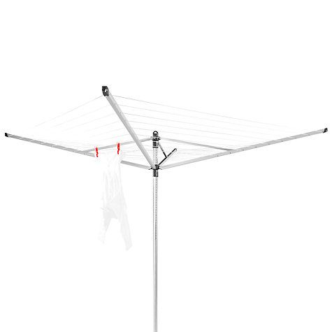 Buy Brabantia Lift-O-Matic Rotary Clothes Airer Washing Line with Soil Spear, 40m Online at johnlewis.com