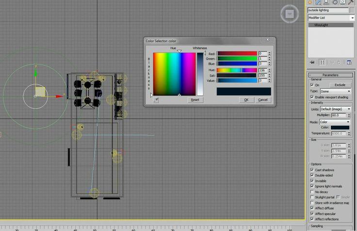 Realistic Artificial Lighting Rendering / Vray 3dStudio / Aleso3d