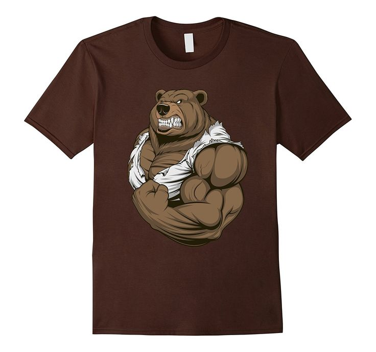 Muscle Bear Tshirt | Mr Bear Tshirt | Father's Day Tshirt