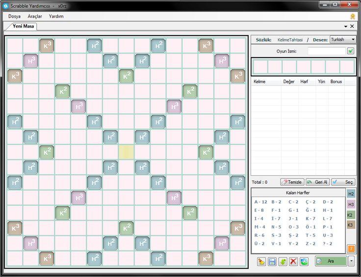 Scrabble Solver panosundaki Pin