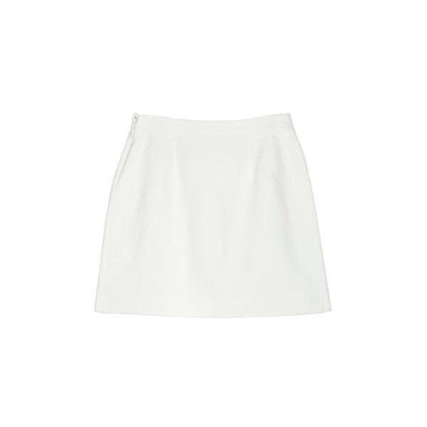 BALENCIAGA Mini Skirt ($245) ❤ liked on Polyvore