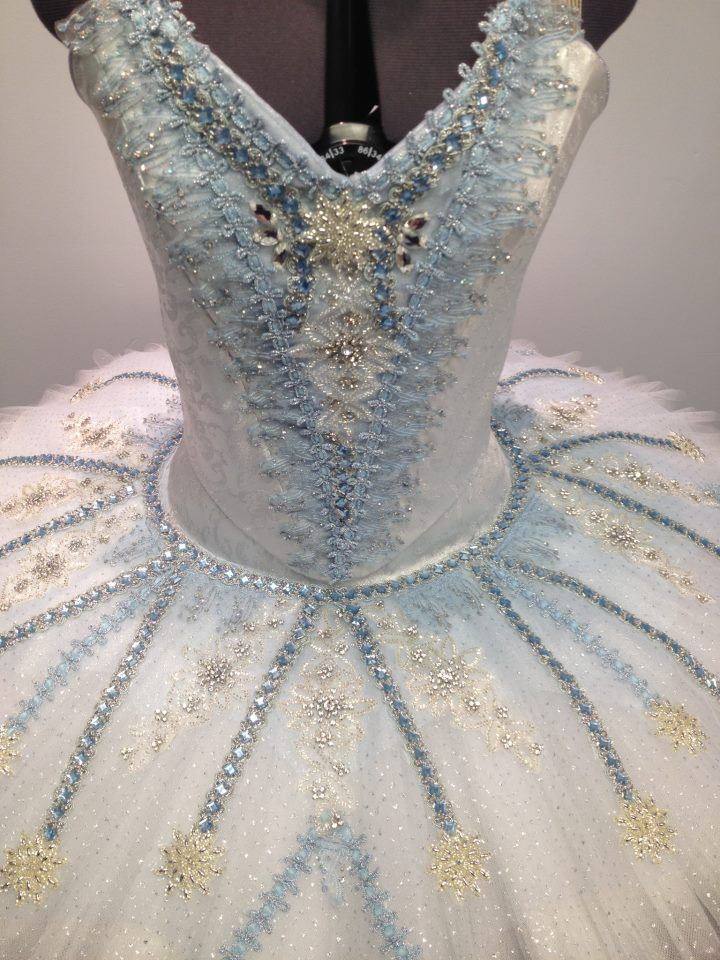 I adore the colour and detail in this tutu, just stunning!