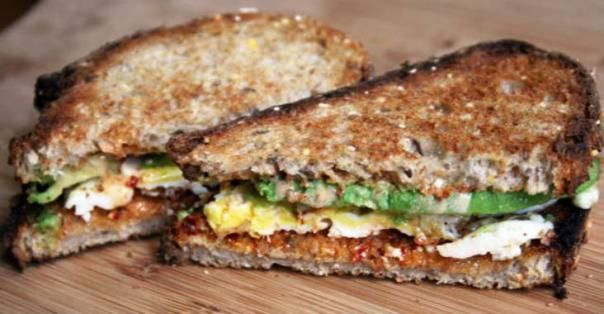 ... Egg Sandwiches, Minutes Greatist, Egg Sandwhich, Easy Healthy Lunch