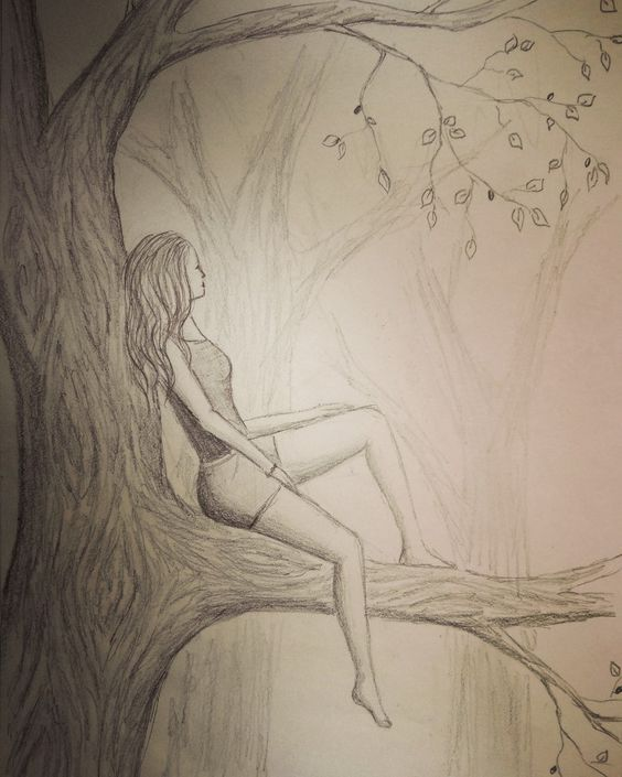 lonely girl drawing. visit my youtube channel to learn more drawing and coloring