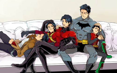 The bat boys spending a bit of time together. Better this than trying to murder each other, lol.