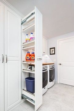 Laundry Room with Workbench and Storage - traditional - Laundry Room - San Francisco - Valet Custom Cabinets & Closets - Larry Fox