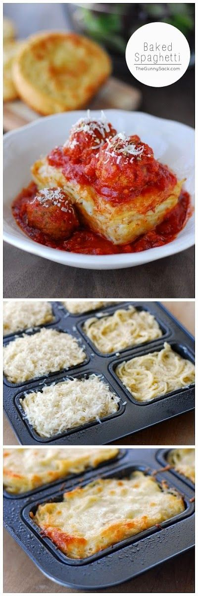 Ingredients  6 cups cooked thin spaghetti noodles  Alfredo sauce (recipe below)  1 cup shredded mozzarella cheese  Italian Meatballs (s...