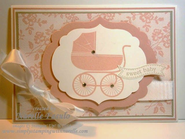 Narelle Fasulo - Independent Stampin' Up! Demonstrator - Something for Baby, I Love Lace, Big Shot Bundles and more - hop over to my blog for all the information.